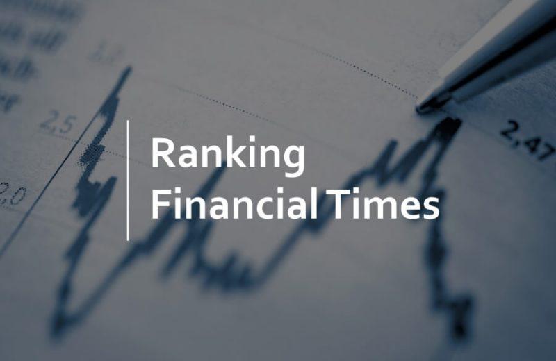 Escuelas de Negocios Españolas en el Ranking de Financial Times